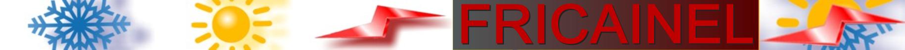 FRICAINEL empresa insataladora, instalaciones comerciales y hostelería